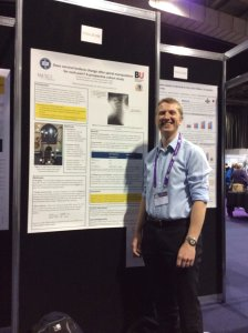 Presenting work on mechanism of spinal manipulation at IFOMPT 2016